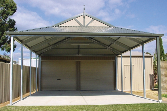 Carports verandahs adelaide olympic industries for Gable carport prices