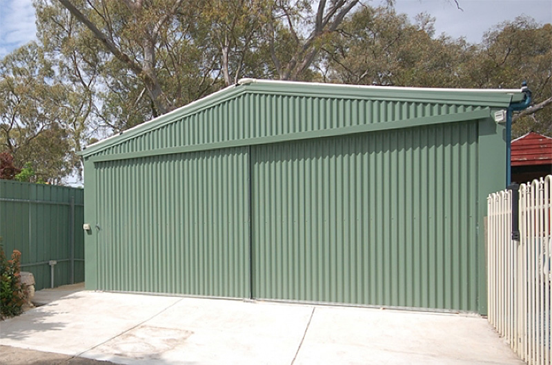 Olympic Industries Gable Garages Adelaide