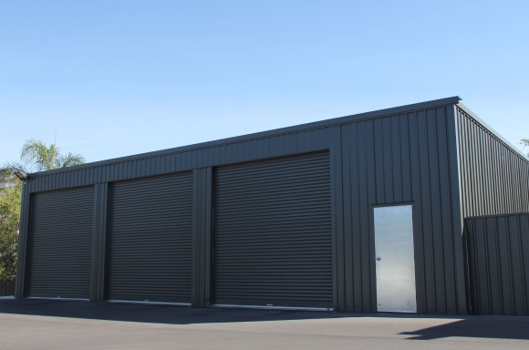 Garages sheds adelaide sa olympic industries for Flat roof garage designs